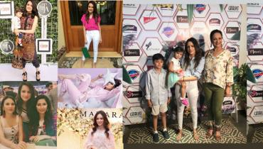 Latest Clicks of Bushra Ansari's Daughter Model Meera Ansari