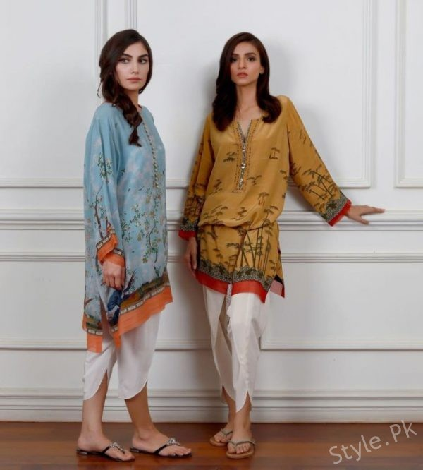 de3356f07 Misha Lakhani Eid Ul Fitr Collection 2018 For Women - Style.Pk
