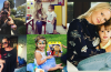 Clicks Of Wasim Akram With His Wife And Cute Daughter Aiyla