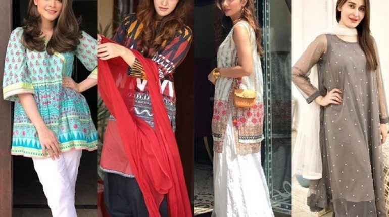 9942cc8052 Latest Summer Fashion Trends 2018 | Pakistani Summer Dresses