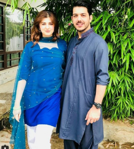 Beautiful Clicks Of Lovely Couple Goher Mumtaz And Anam Ahmed