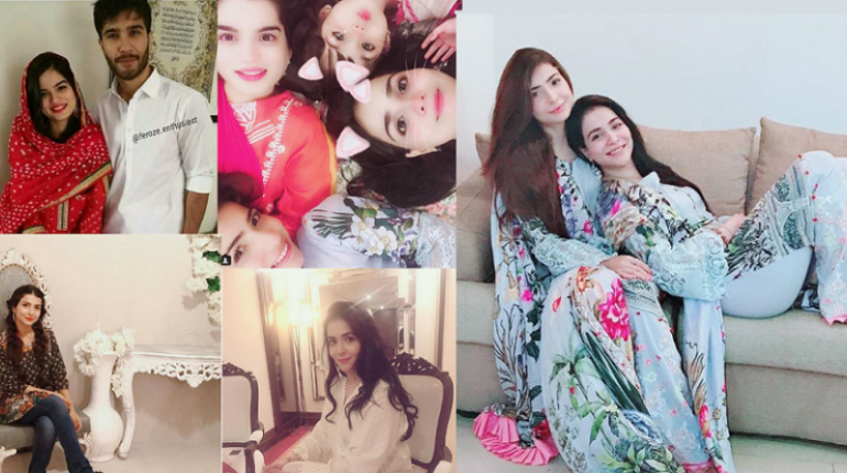 Beautiful Latest Clicks of Humaima malik, Dua Malik and Alizey Feroze