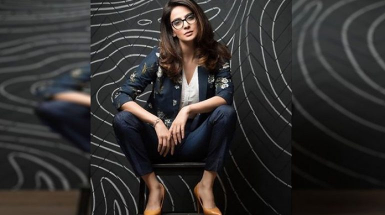 Saba Qamar Looks Funky In Her Latest Photoshoot