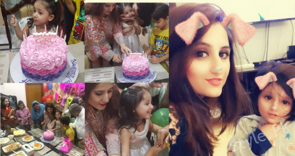 Sami Khan With His Wife Celebrated Her Daughter's Birthday