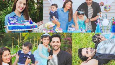 See Ayeza Khan's Daughter Hoorain Taimoor's 3rd Birthday Celebration