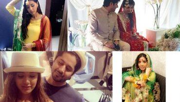 See Imran Ashraf's Bride Kiran Ashfaq at her Mayun