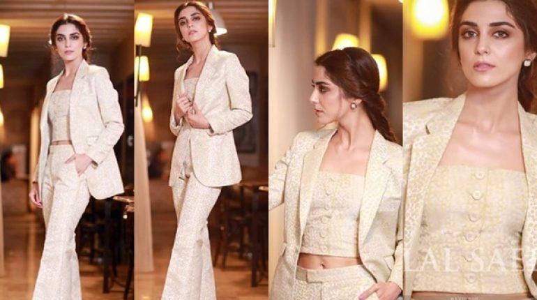 See Maya Ali at Lahore Premier of Teefa In Trouble