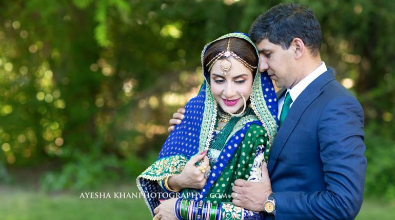 See Saman Ansari's Official Walima Pictures