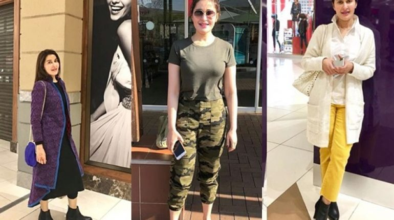 See Shaista Lodhi's Recent Pictures in South Africa