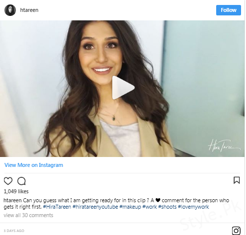 Hira Tareen Steps Into The World Of Vlogging