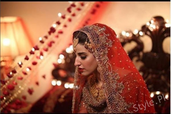 Beautiful Bridal Look Of Hareem Farooq