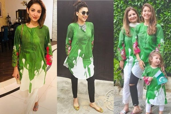 See Celebrities spotted in same dress on 71st Independence Day
