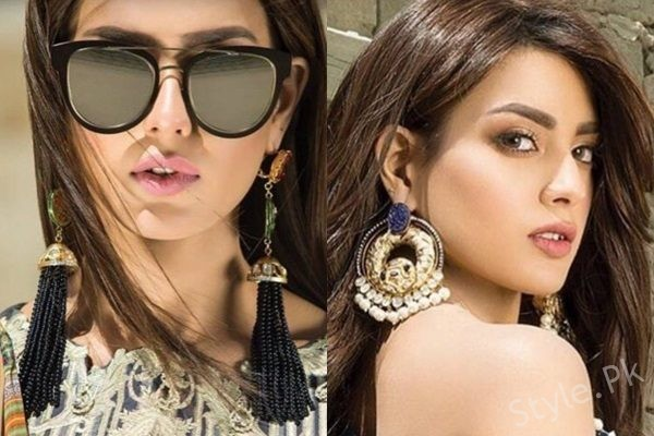 See Iqra Aziz' Breathtaking Photoshoot for a Jewellery Brand