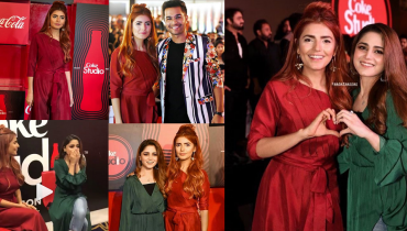 See Momina Mustehsan and Aima Baig at Coke Studio Season 11 Launch Event