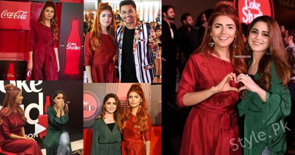See Momina Mustehsan and Aima Baig at Coke Studio Season 11 Launch Event