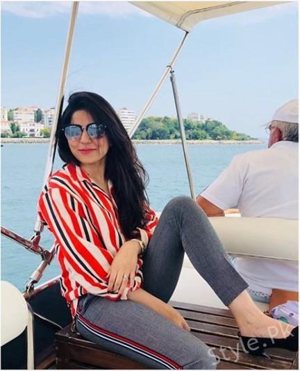See Sanam Baloch Vacationing in Turkey