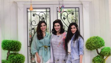 See Sonya Hussain with her Sister and Mother in Good Morning Pakistan