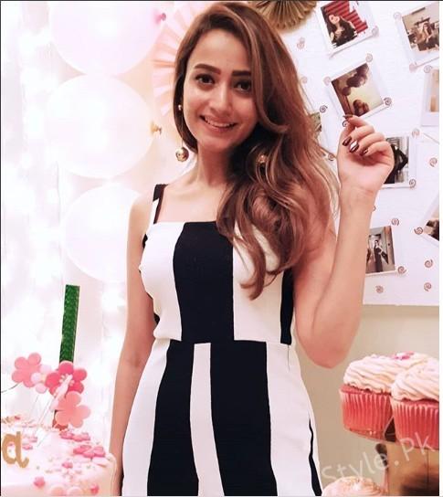 See Zarnish Khan Dancing on Her Birthday