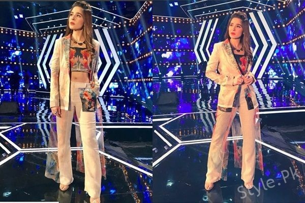 See Ayesha Omar Looks Trendy in Pant Suit
