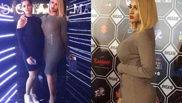 See Mathira with her Sister Rose at Hum Style Awards 2018