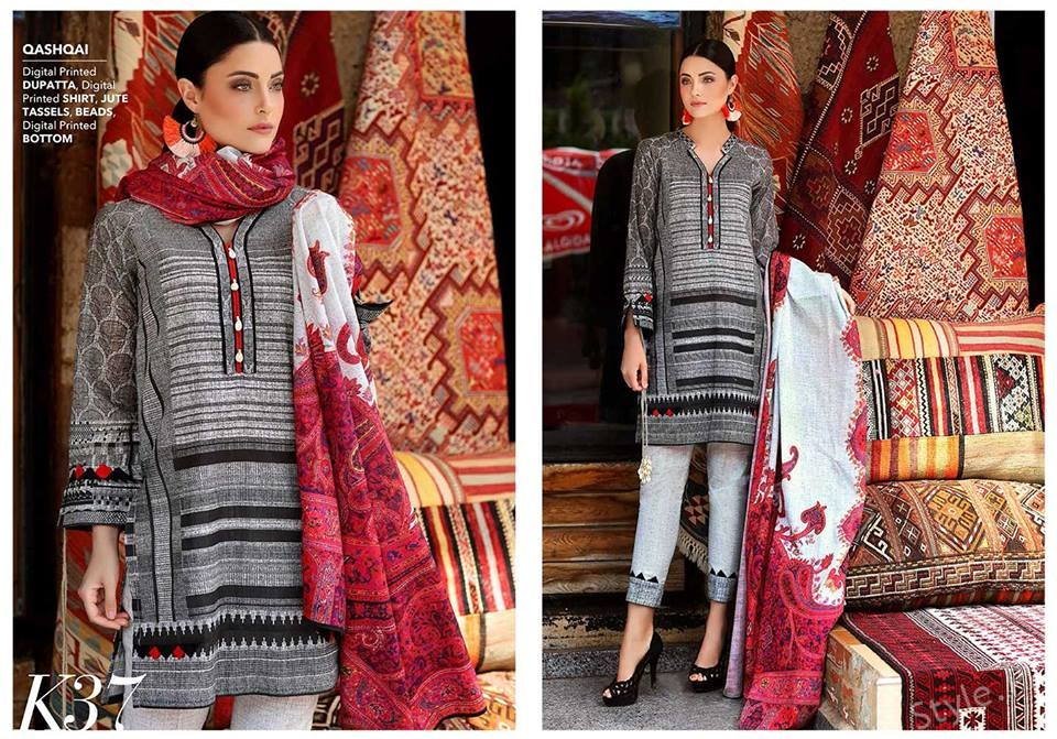 Gul Ahmed Winter Collection 2018 2019 For Women Style Pk