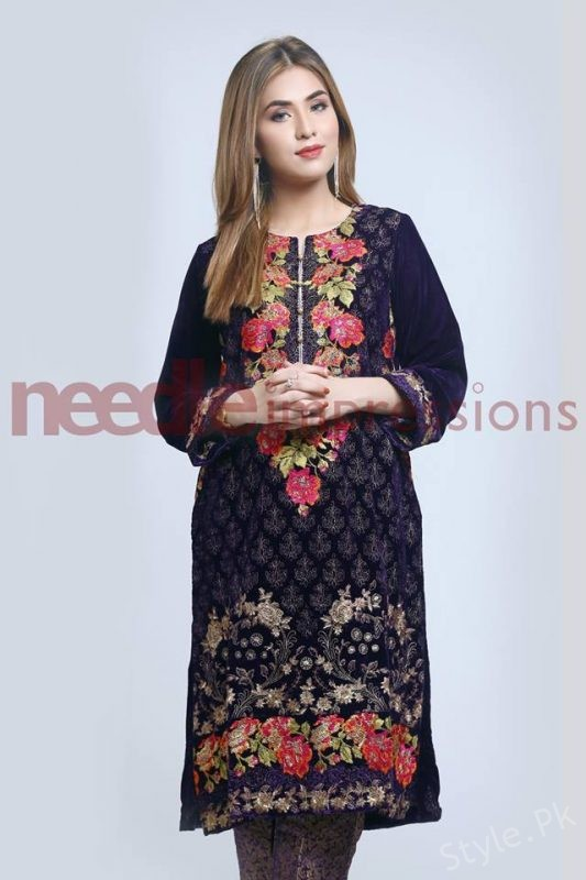 Needle Impressions Winter Collection 2018 2019 For Women Style Pk