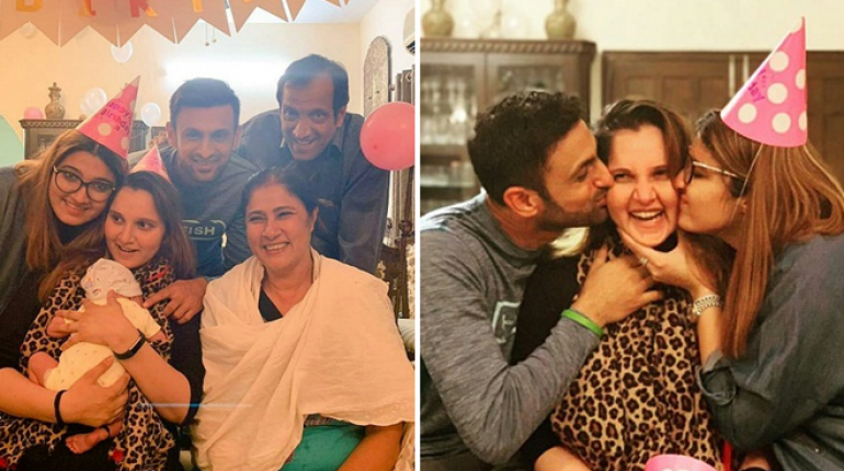 Sania Mirza Celebrates Birthday With Husband and family