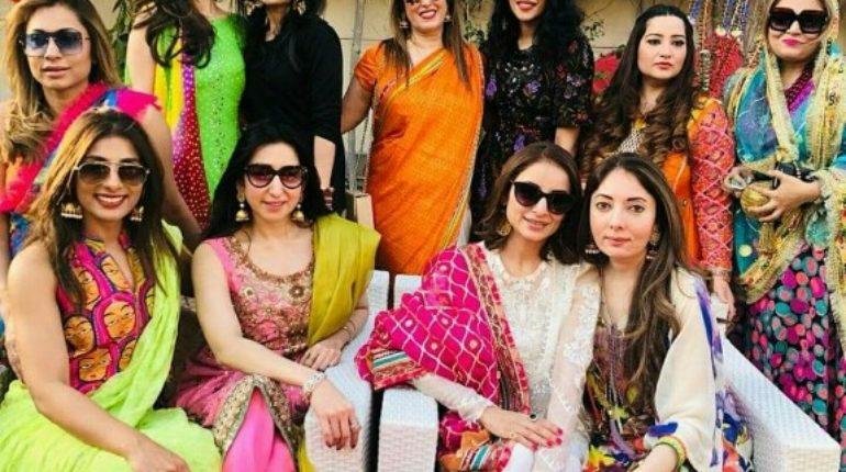 Sharmila Farooqui Arranged Star Studded Basant Brunch party