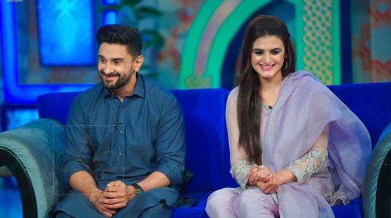 Latest Pictures of Hira and Mani in Reema Khan's Ramazan